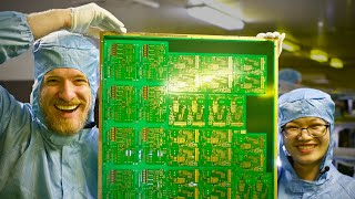 Inside a Huge PCB Factory - in China