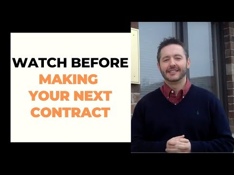 Springfield, Missouri Business Law Attorney Discusses Contracts (Video): by Joseph Piatchek