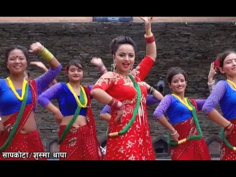 Barilai Ramailo Teejma - Agantuk Kharel Ft. Namrata Sapkota | New Nepali Teej Song 201