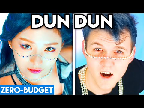 K-POP WITH ZERO BUDGET! (EVERGLOW - 'DUN DUN' PARODY)