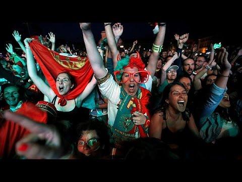 Εuro 2016: Ολονύχτιοι πανηγυρισμοί για τους Πορτογάλους
