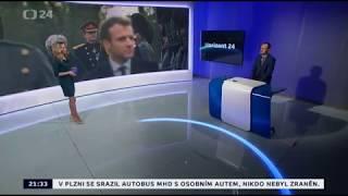 Macron na summitu v Londýně