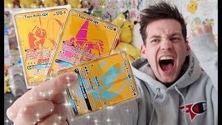 PULLING 3 *HIDDEN FATES* GOLD POKEMON CARDS!!! by Unlisted Leaf