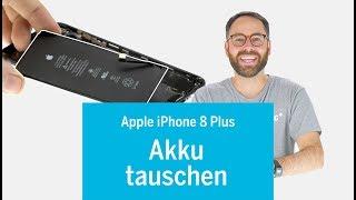 iPhone 8 Plus 8+ Akku wechseln / Batterie tauschen / replace battery (EN subs)