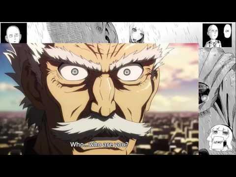 Genos and Saitama vs Meteor One Punch Man