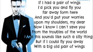 Justin Timberlake - Not a Bad Thing - ( The 20/20 Experience 2 of 2 ) Lyrics On Screen