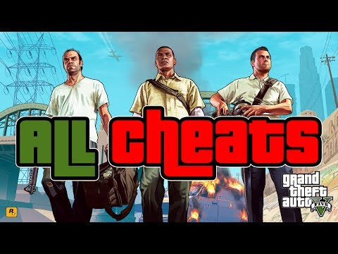 cheats - Grand Theft Auto 5 cheats video. These cheats work on both the Xbox 360 and PS3 versions of GTA 5. The cheats are broken down into three categories: Vehicle Spawn, Player, and Environmental...