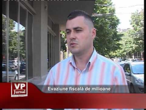 Evaziune fiscală de milioane
