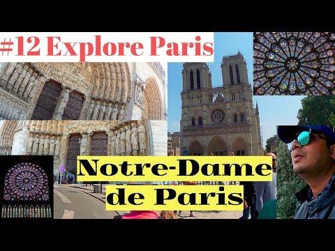Explore Paris - 12 (Notre-Dame de Paris, the masterpiece) in Hindi
