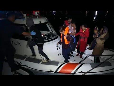 Η Τουρκία συνέλαβε 330 μετανάστες που επιχειρούσαν να φτάσουν στη Λέσβο…