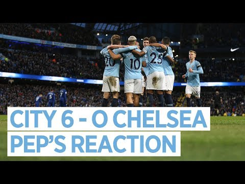 Video: PEP GUARDIOLA POST MATCH PRESS CONFERENCE | CITY 6-0 CHELSEA