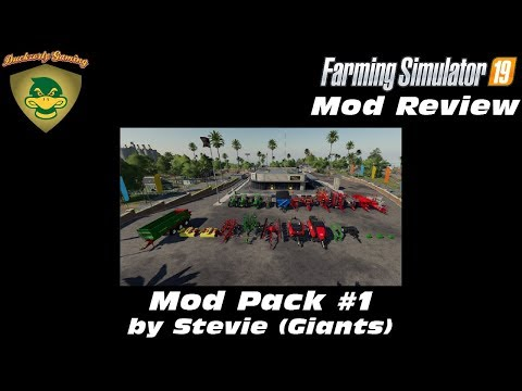 FS19 Mod Pack v1.0 by Stevie
