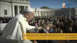 Papa Francisco - Su catequesis en la Audiencia General 09-11-2016