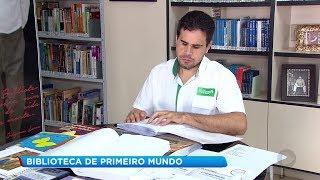 Lençóis Paulista: biblioteca tem acervo em braile e audiolivros para deficientes visuais