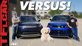 Land Rover vs Range Rover: We Compare the Most & Least Dirt-Worthy Models To See What $50K Gets You! by The Fast Lane Car