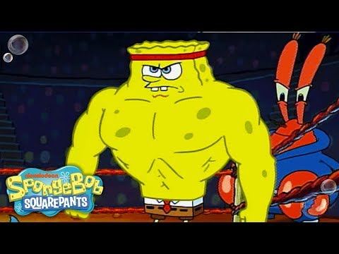 Music Monday w/ SpongeBob SquarePants | ULTIMATE 'Champion' Sportz Music Video 🎶 | Nick