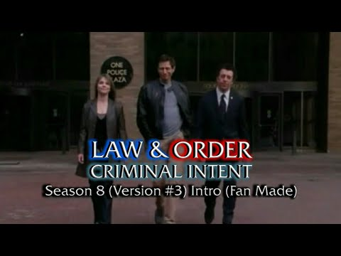 Law & Order: Criminal Intent: Season 8 (Version #3) Intro (Fan Made)