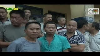 Some Chinese miners have been arrested at Effuantaa Kampunase a suburb of Tarkwa in the Western region. They were arrested in a swoop conducted by the Anti-Environmental Degradation squad.