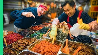 Video Traditional Korean Street Food Tour at Gwangjang Market in Seoul! MP3, 3GP, MP4, WEBM, AVI, FLV Juni 2019
