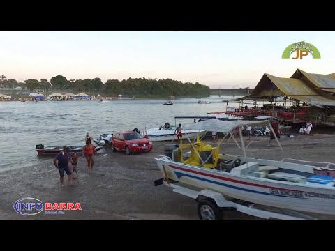 Temporada de praia de Aragarças de Barra do Garças e Pontal do Araguaia 2012. Mês de Junho.