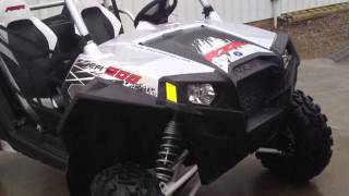 4. 2012 Polaris Ranger RZR XP 900 Liquid Silver LE at Tommy's MotorSports
