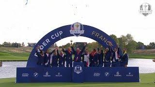 Europa batte USA a Parigi nella 42esima Ryder Cup