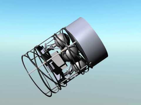 Phoenicia Lunar Payload Delivery Rack (aka Legion System) Sat Deployment Simulation