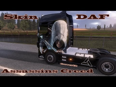 Scania Assassins Creed Skin by CrowerCZ 1.24