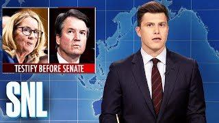 Weekend Update: Brett Kavanaugh and Dr. Ford Testify - SNL