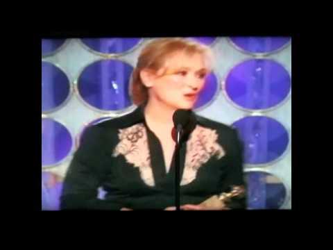 Meryl Streep-UNCENSORED Golden Globes 2012