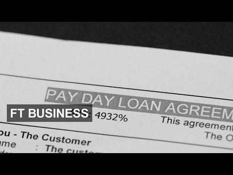 Crackdown on payday lending