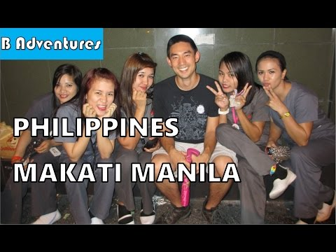 Philippines 2013, Episode 2 – Chilling in Makati Manila, Restaurants & Locals, Shooting Range