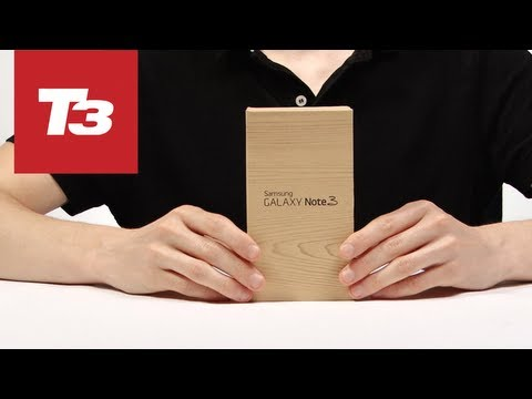Samsung Galaxy Note 3 unboxing video