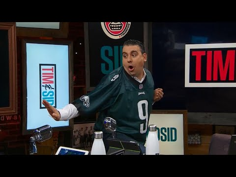 Video: Tim and Sid: Paying up on Eagles Super Bowl bet