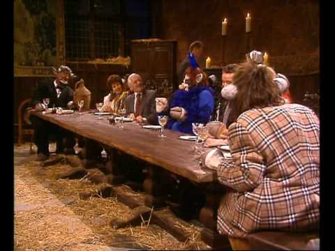 Cows - The Cows Attend A Posh Dinner Party