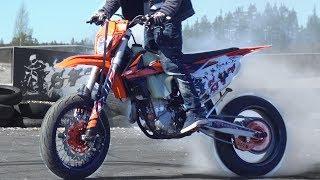 Video KTM EXC 450 Supermoto Arttu Stenberg MP3, 3GP, MP4, WEBM, AVI, FLV Maret 2019