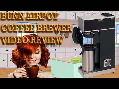 Bunn Airpot Coffee Brewer Review – BUNN VPR-APS Pourover Airpot Coffee Maker Reviewed