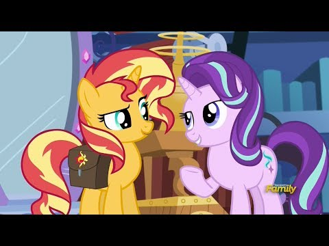 Sunset Shimmer meets Starlight Glimmer
