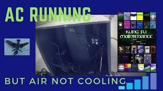 Video AC Outside Fan Running But Air Conditioner Not Cooling HVAC Real Time Repair Video MP3, 3GP, MP4, WEBM, AVI, FLV Juni 2018