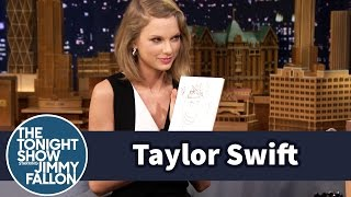 Video Taylor Swift and Jimmy Draw Each Other Without Looking MP3, 3GP, MP4, WEBM, AVI, FLV Januari 2018
