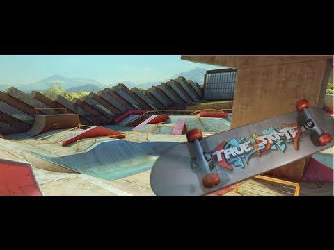 True Skate, un Fantastico gioco di Skateboard per iPhone 5 4S 4 e iPad - Gameplay - AVRMagazine.com