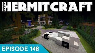 Hermitcraft IV 148 | AN EXTRAVAGANT CAR! | A Minecraft Let's Play