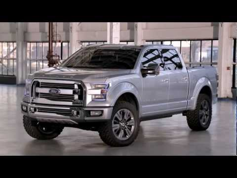 Ford Atlas concept pickup engineering details