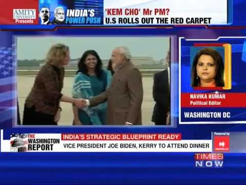red carpet - President Barack Obama rolled out the red carpet for Prime Minister Narendra Modi as he visits Washington DC on Tuesday (September 30). The Obamas hosted a private dinner for PM modi and in...