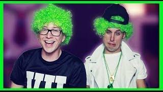 Drunk St. Patrick's Day Challenge (ft. Sawyer Hartman) | Tyler Oakley
