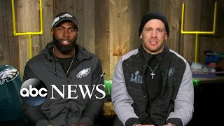 Eagles players say there's 'no city' they'd rather win this Super Bowl for