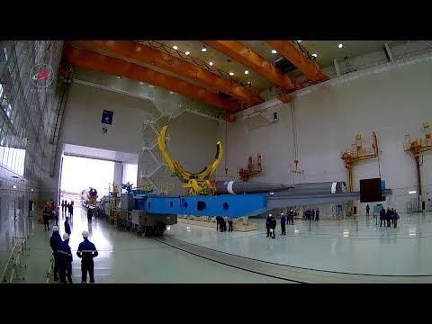 Космодром Восточный: работы вМИКе сракетой-носителем «Союз— 2.1»