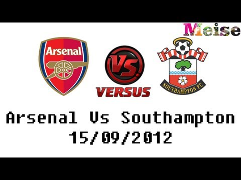 MeiseTV - So today Arsenal beat Southampton 6-1 at the Emirates. A fantastic team performance along with a great free kick from Podolski! Arsenal Goals : Hooiveld 11′ ...