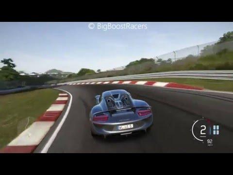Forza Motorsport 6 Porsche 918 Spyder Nürburgring Nordschleife Gameplay (6:56)