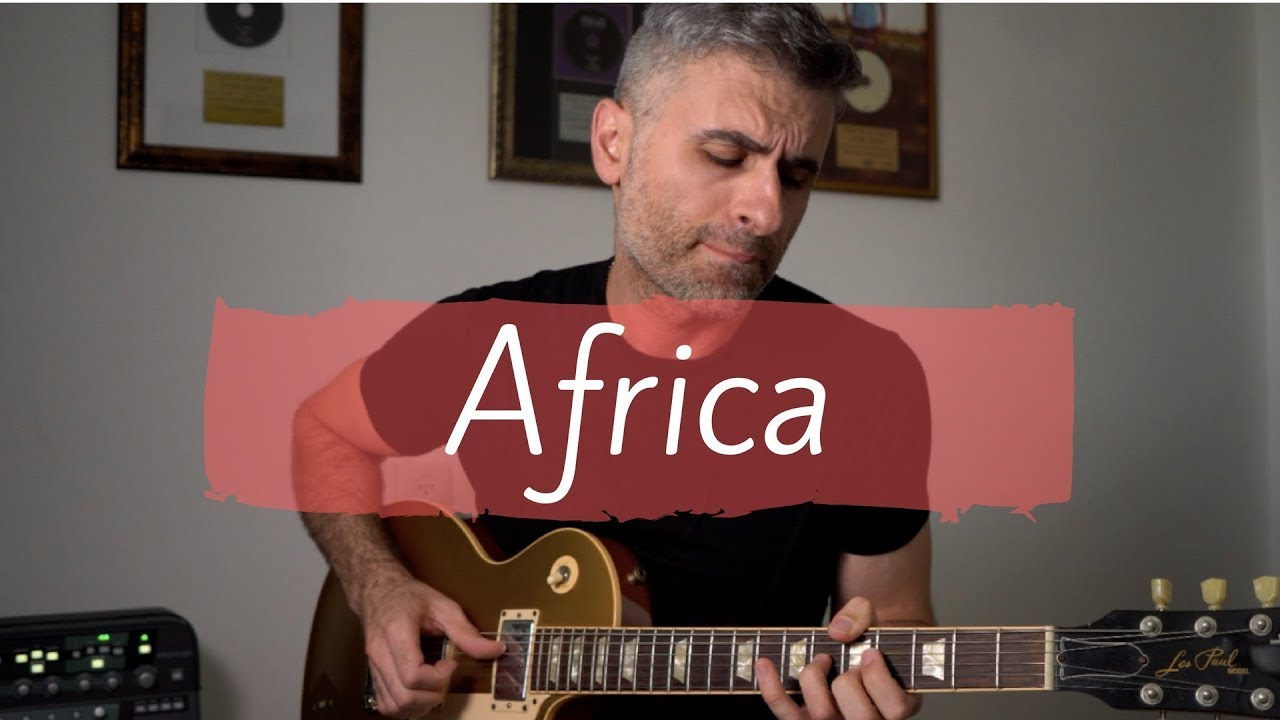 Toto – Africa – Electric Guitar Cover